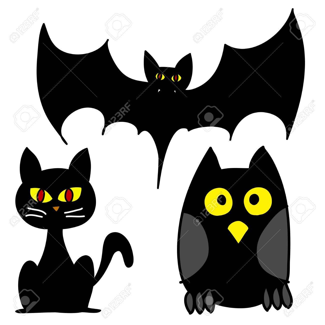 Halloween character hand writing cartoon Stock Vector - 15764754