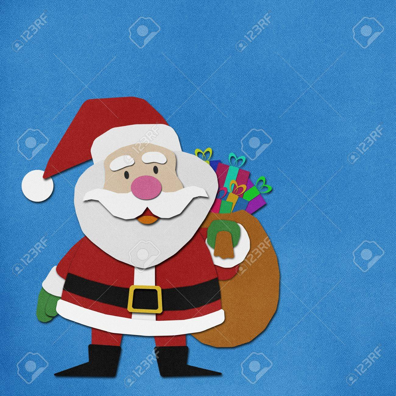 Uncategorized Santa Claus Paper santa claus recycled paper craft stock photo picture and royalty 15764753