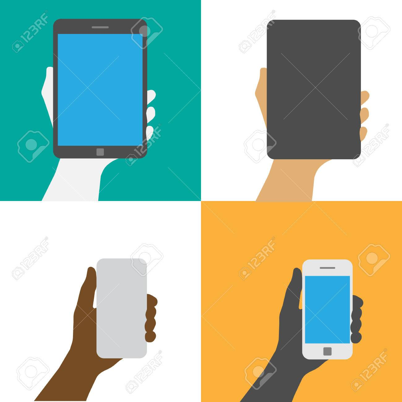 Smartphone and Tablet .Illustration EPS10 Stock Vector - 23124021