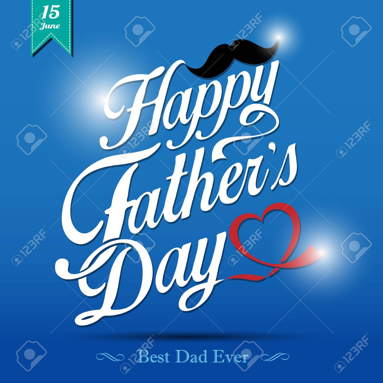Happy Father's Day Typographical Background - 29159824