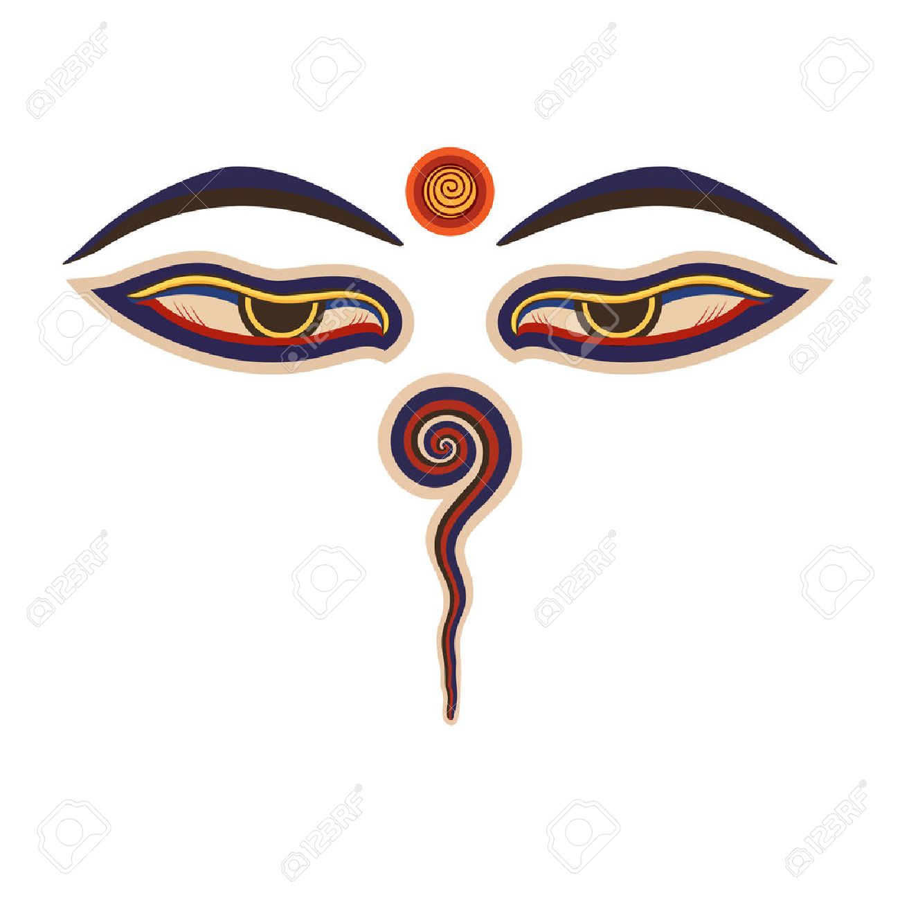 Buddha eyes royalty free cliparts vectors and stock illustration buddha eyes biocorpaavc Images