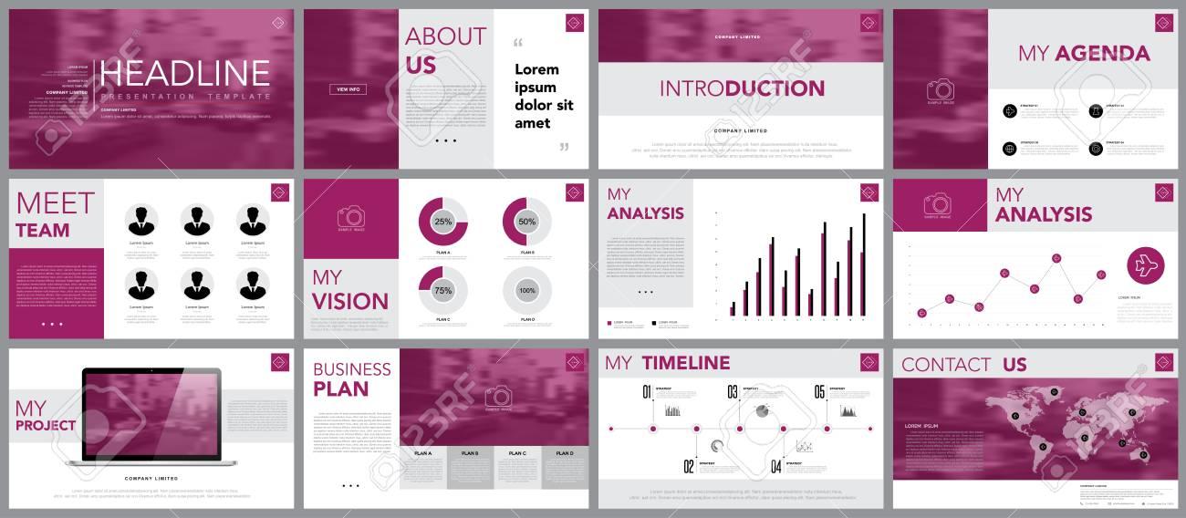 Gestaltungselement Von Infografiken Für Präsentationsvorlagen ...