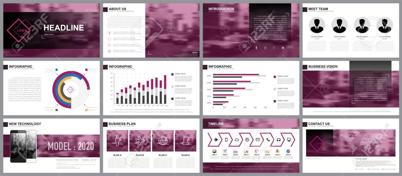 Design Element Of Infographics For Presentation Templatese