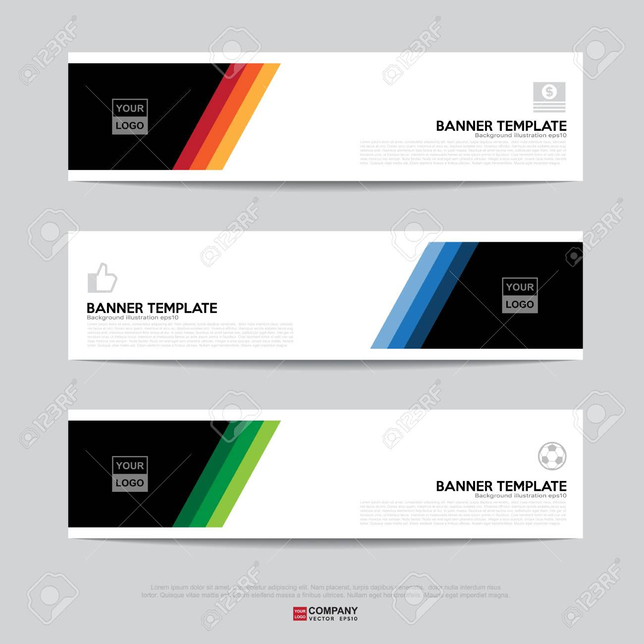 Design Of Flyers Banners Brochures And Cards Templatebanner