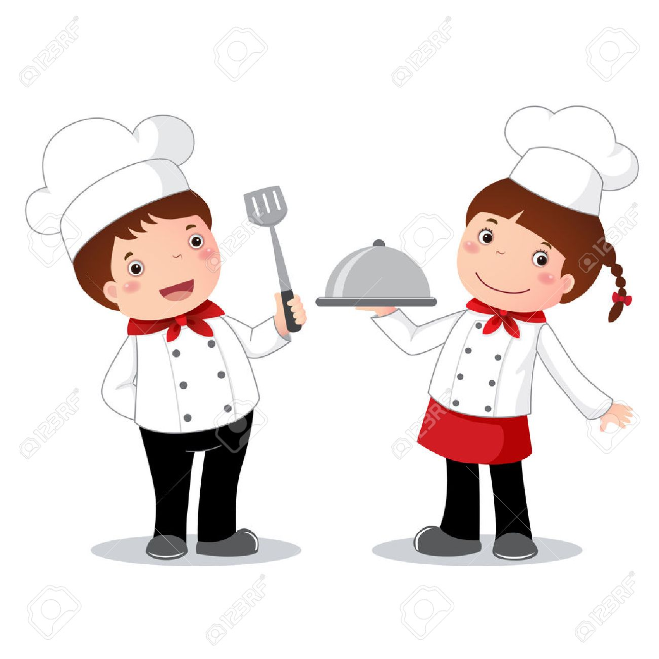 Illustration Of Profession Costume Of Chef For Kids Royalty Free