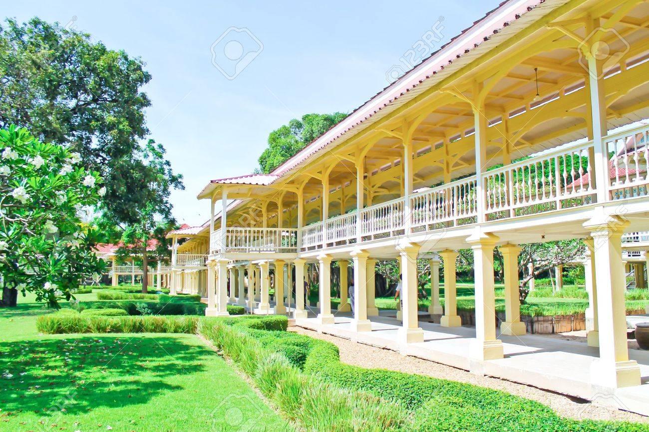 Palace Marukhathaiyawan in Cha-Am, Phetchaburi, Thailand Stock Photo - 13293698
