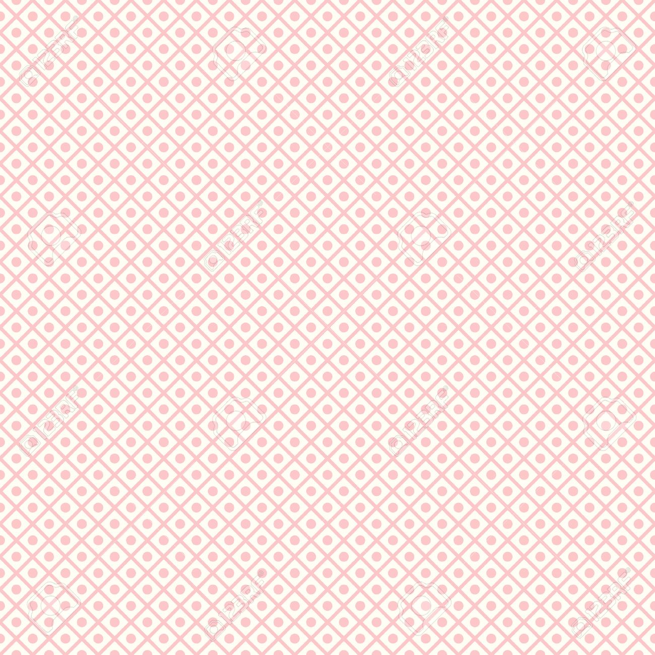 Pastel Retro Vecteur Seamless Carrelage Sans Fin La Texture Peut