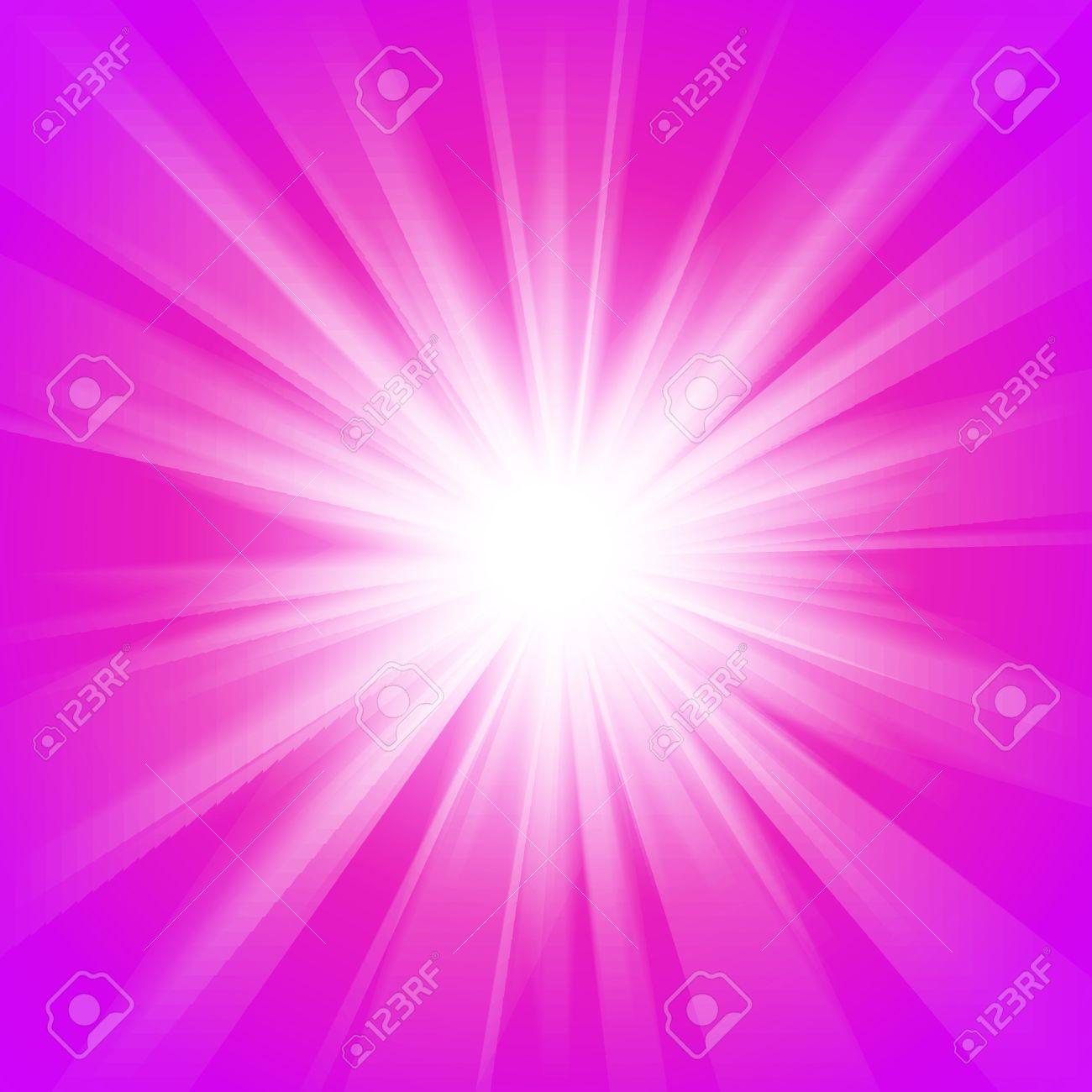 ピンクとパープル抽象魔法光の背景 壮大な設計のためのベクトル図web