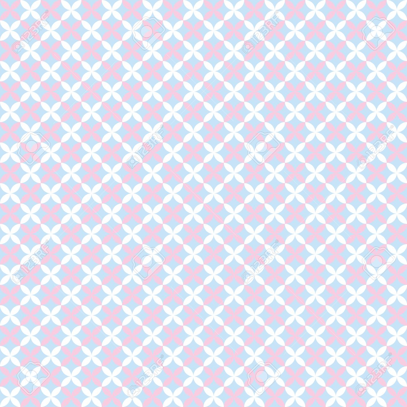 Baby Pastel Different Vector Seamless Pattern Tiling Endless ...