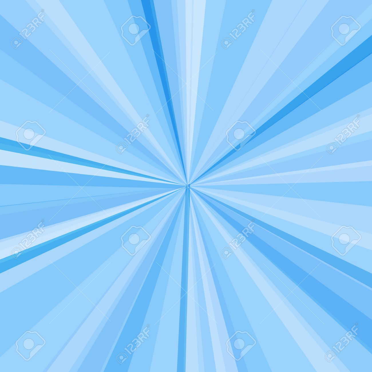 Sunbeam, Blue Rays Illustration Abstract Background Royalty Free ...