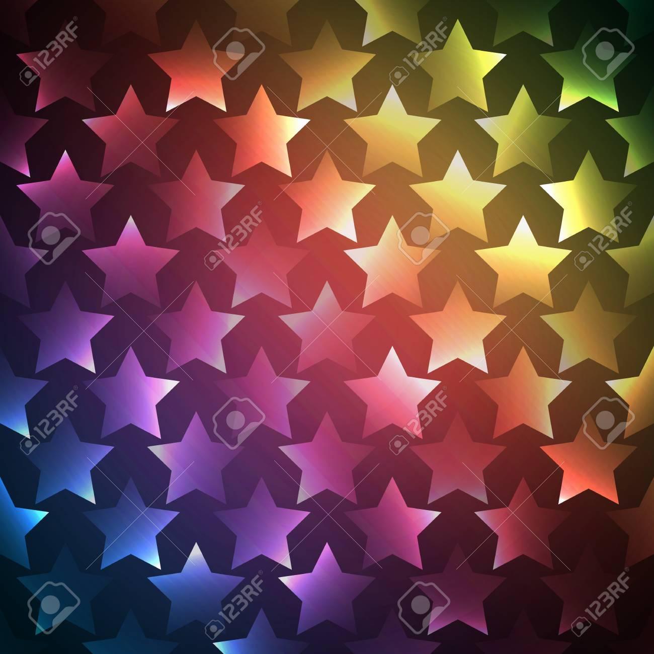 Zusammenfassung Helle Spektrum Tapete Vektor Illustration Für