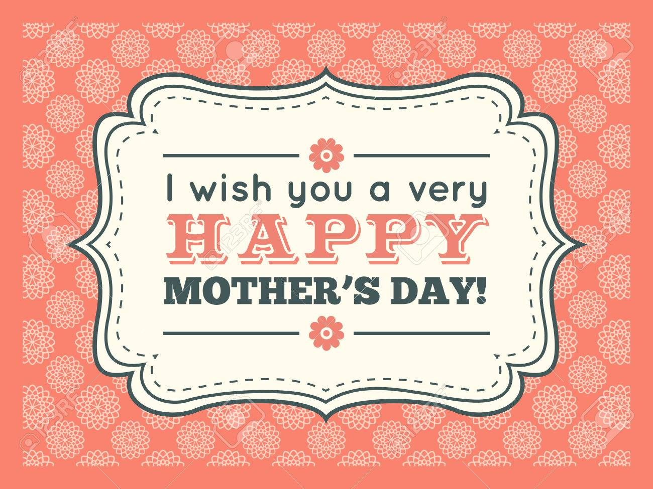 happy mothers day typography letter font type editable for happy birthday party invitation