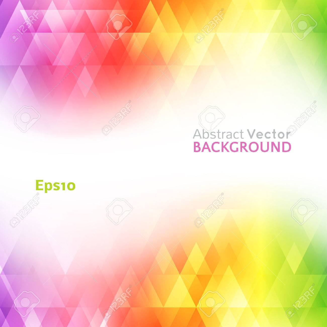 Abstract Bright Background Vector Illustration For Modern Design