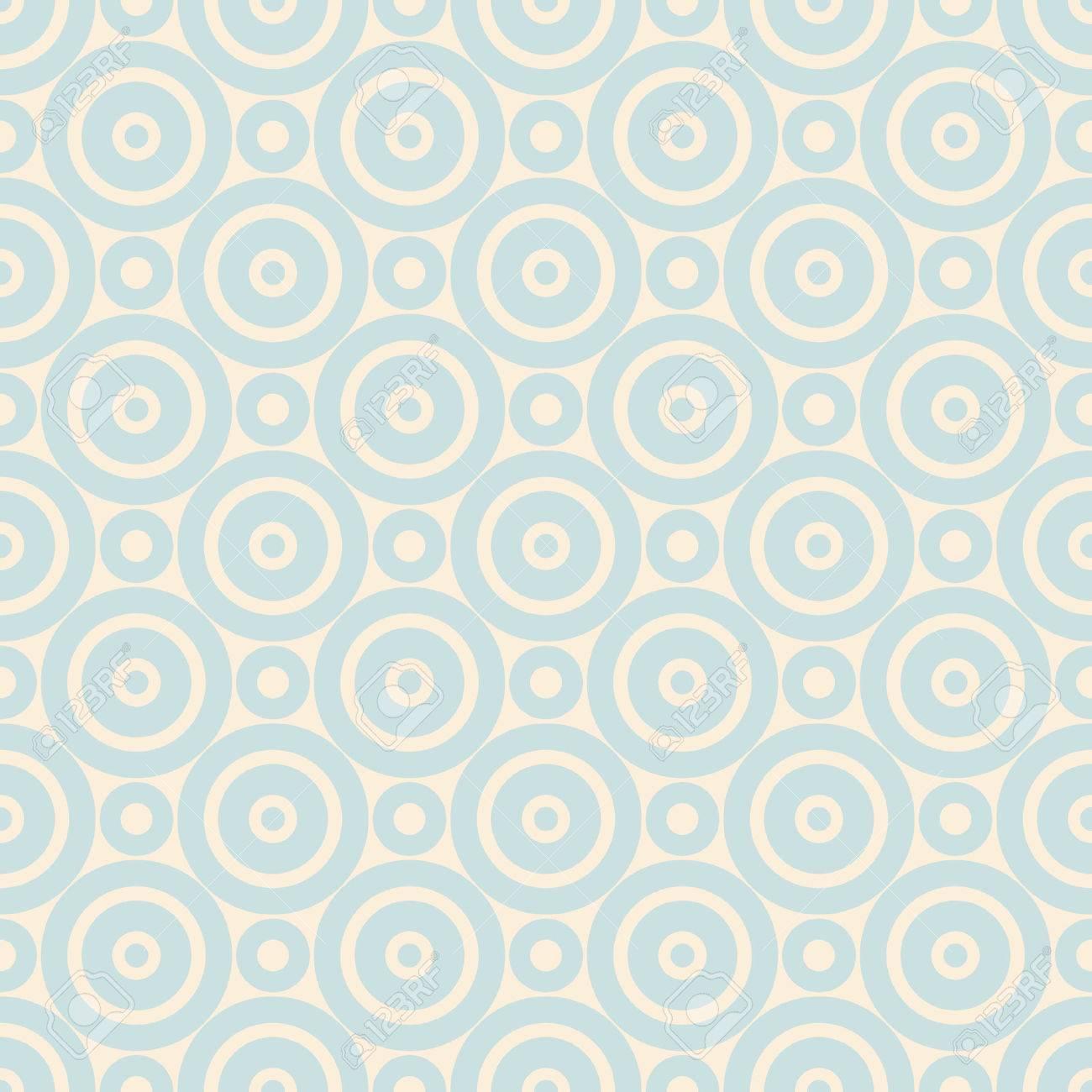 Pastel Retro Vecteur Seamless Pattern Sans Fin Texture Peut Etre