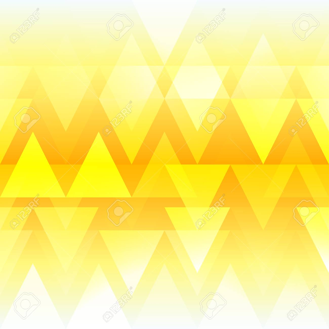 Abstract Bright Background Illustration For Modern Design Yellow Orange And White Colors