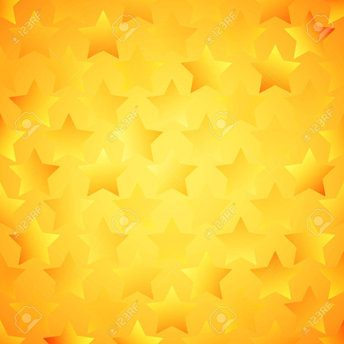 Abstract Bright Star Wallpaper Illustration For Modern Popular Design Cool Pattern Background Yellow