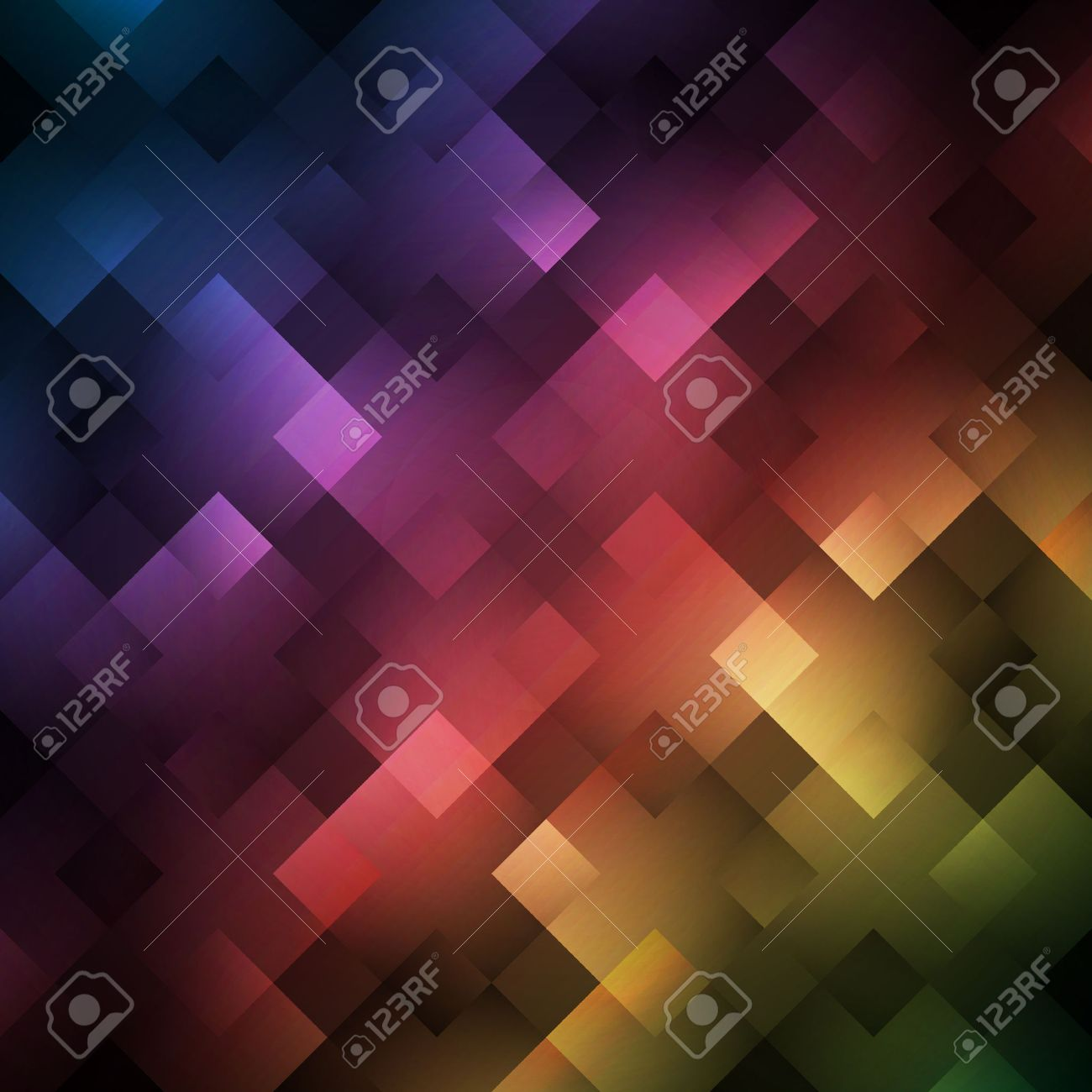 Abstract Bright Spectrum Wallpaper. Illustration For Modern Disco ...