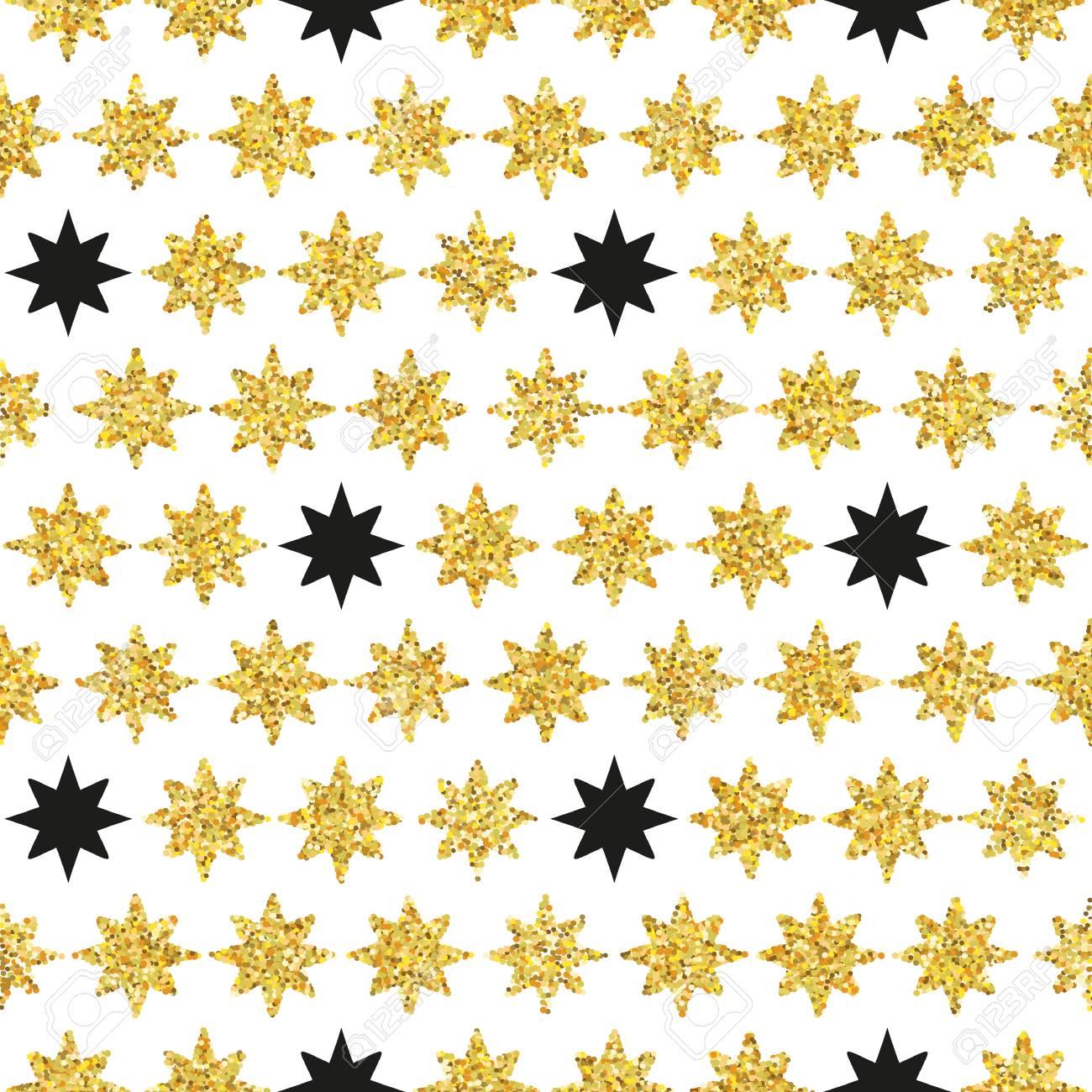Retro Patrón De Colores Sin Fisuras Estrellas. Ilustración Del ...