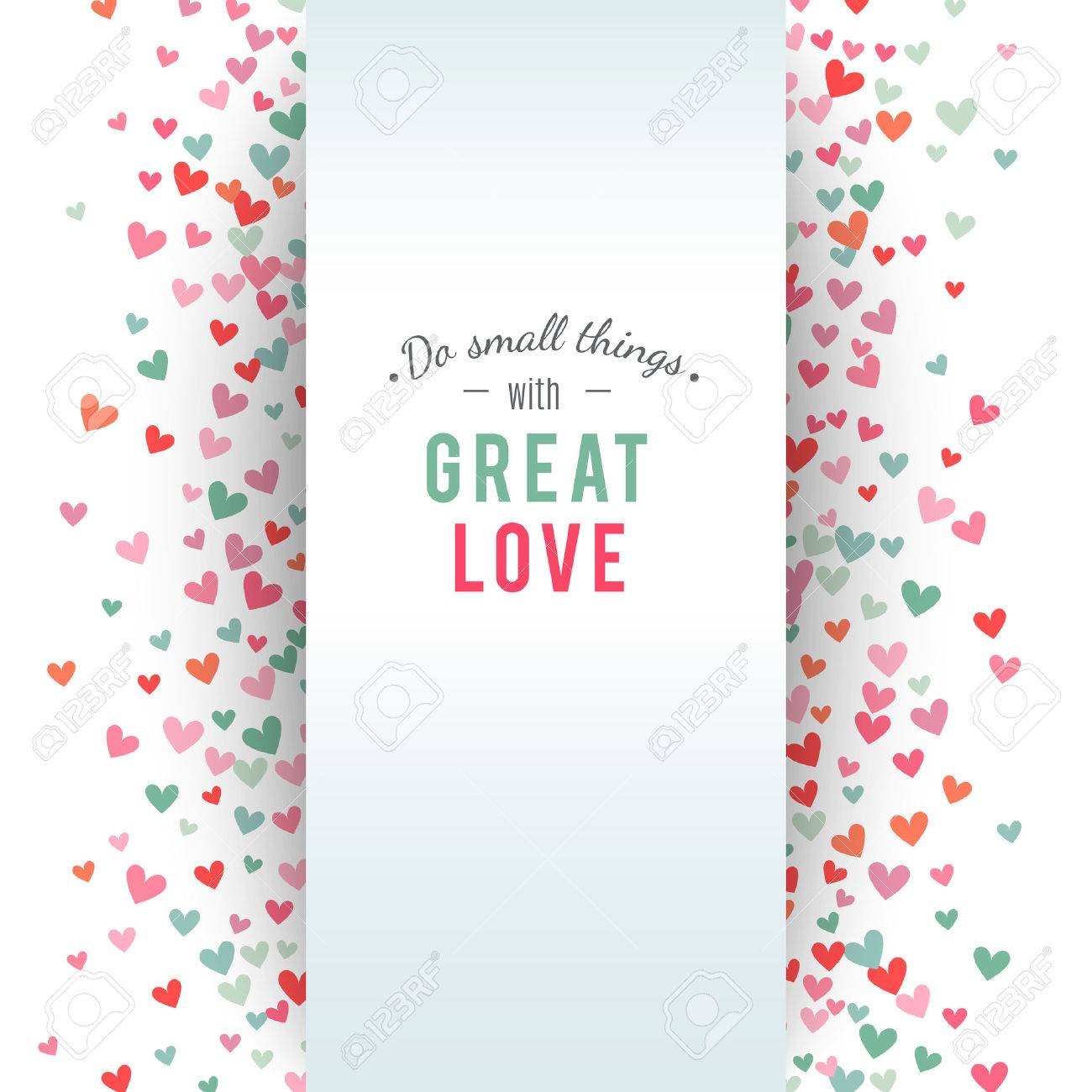 Romantic pink and blue heart background. Vector illustration for holiday design. Many flying hearts on white background. For wedding card, valentine day greetings, lovely frame. - 51850025