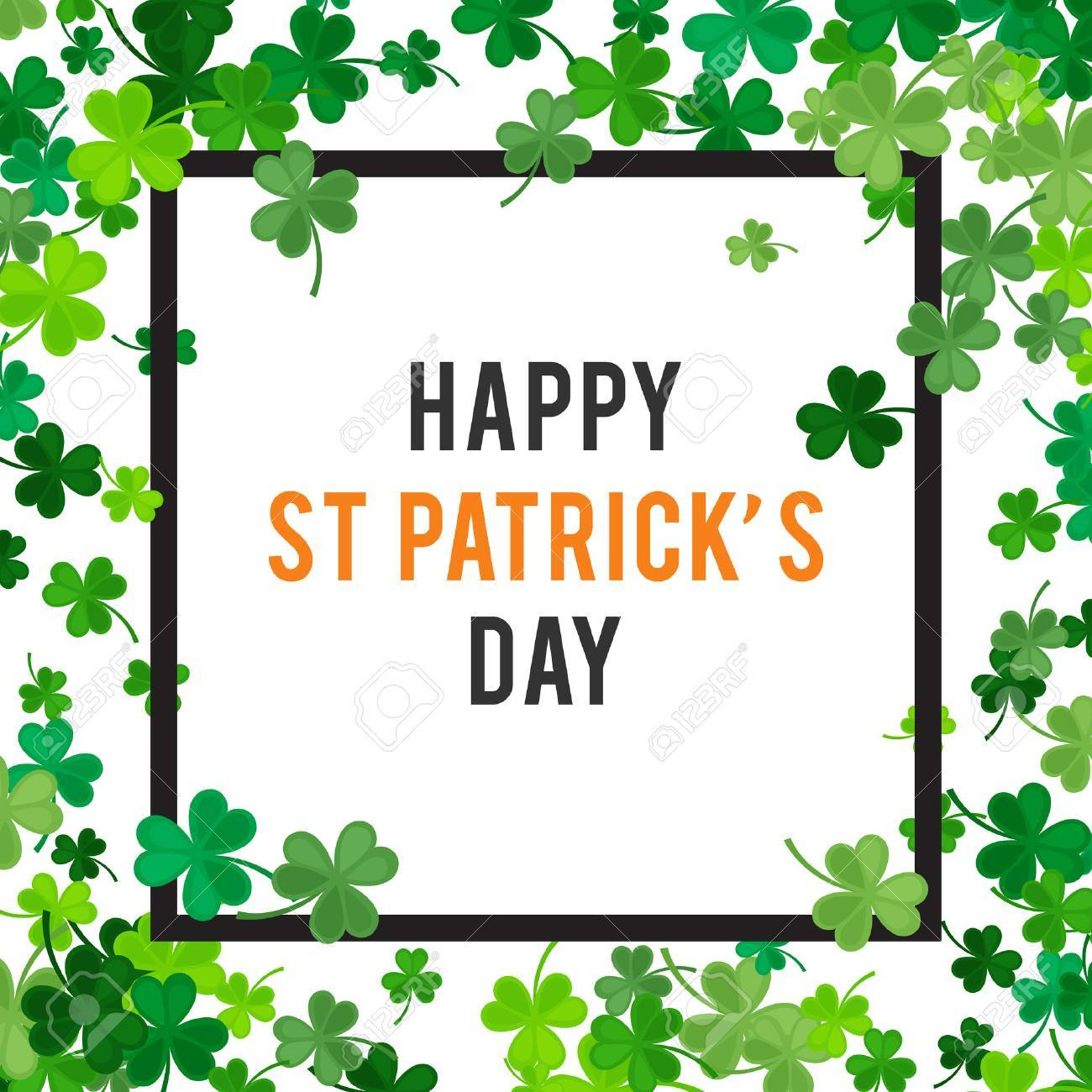 St Patrick's Day background. - 53120385