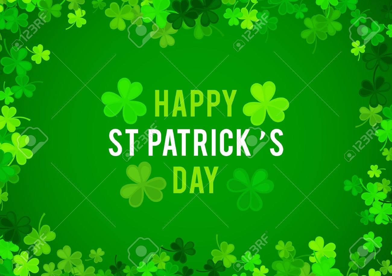 St Patrick's Day background. - 53124093