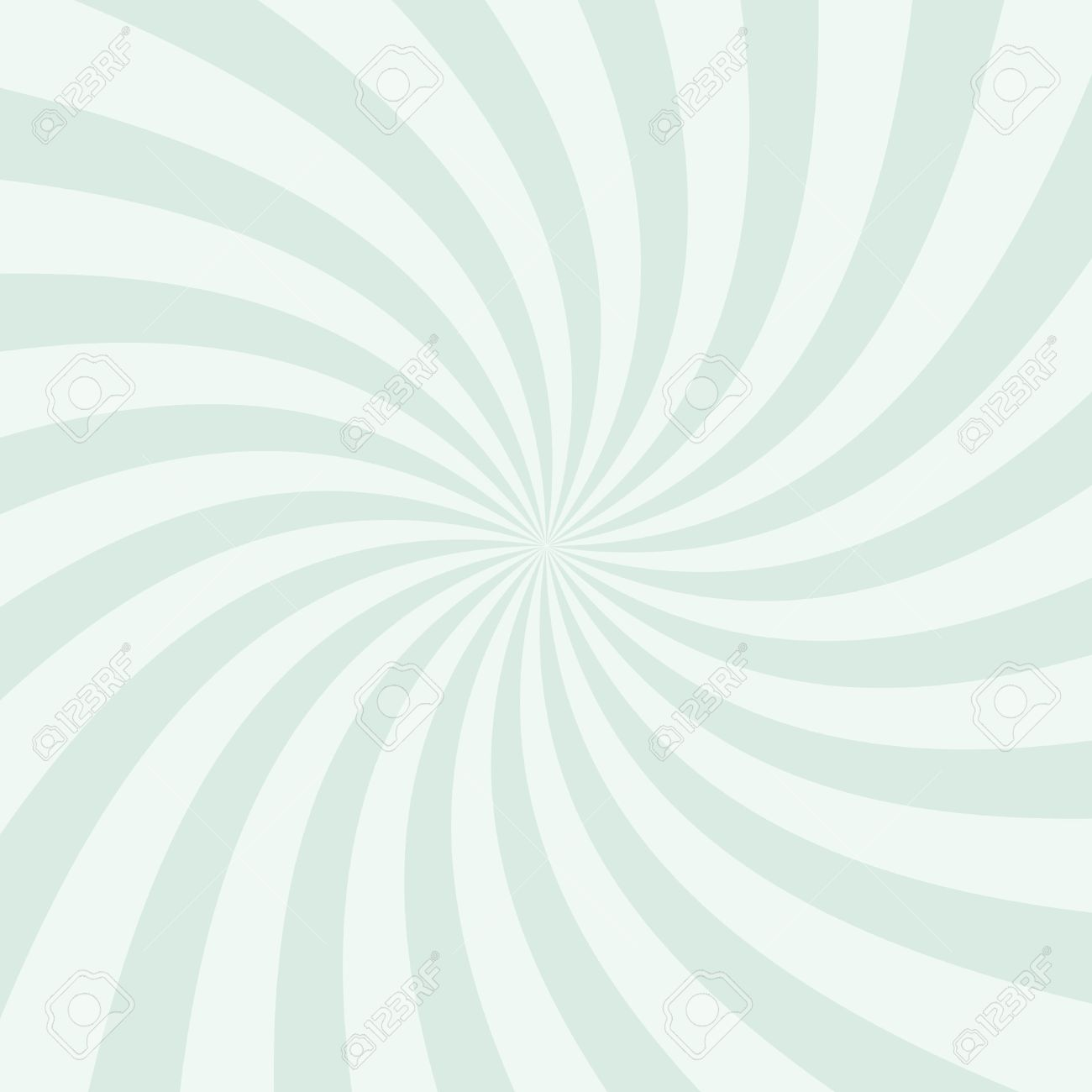 Swirling radial pattern background. Vector illustration for swirl design. Vortex starburst spiral twirl square. Helix rotation rays. Converging psychadelic scalable stripes. Fun sun light beams. - 53985683