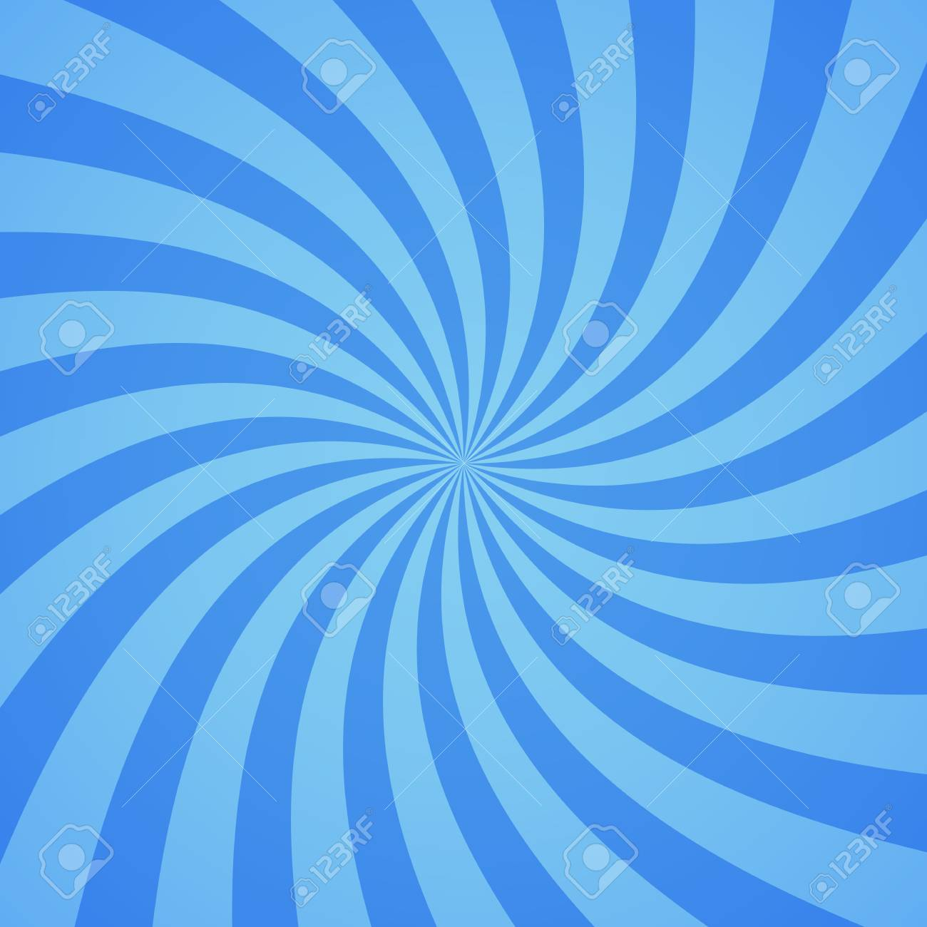 swirling radial pattern background vector illustration for cute
