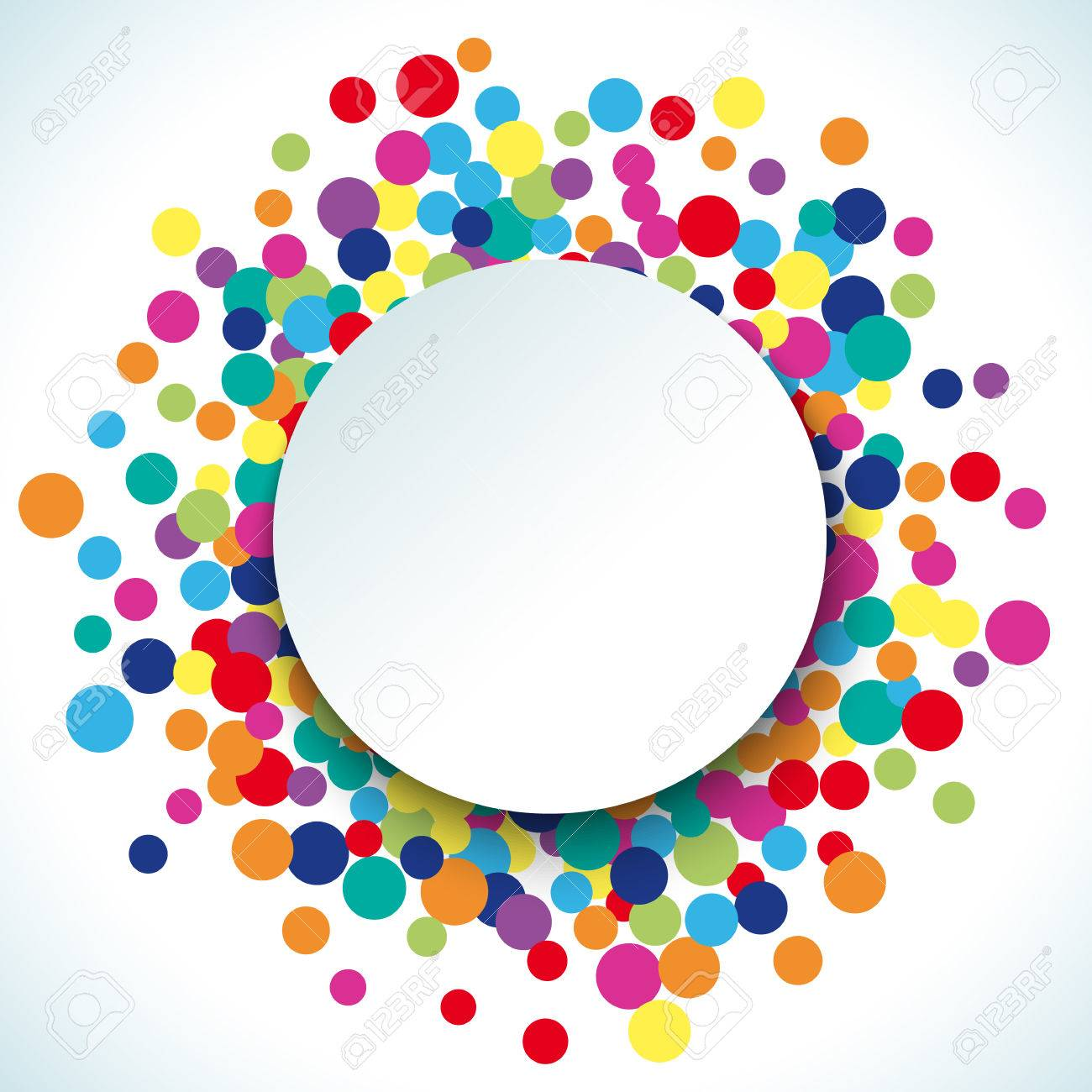 Colorful Abstract Dot Background. Illustration For Bright Design... Royalty  Free Cliparts, Vectors, And Stock Illustration. Image 57583897.