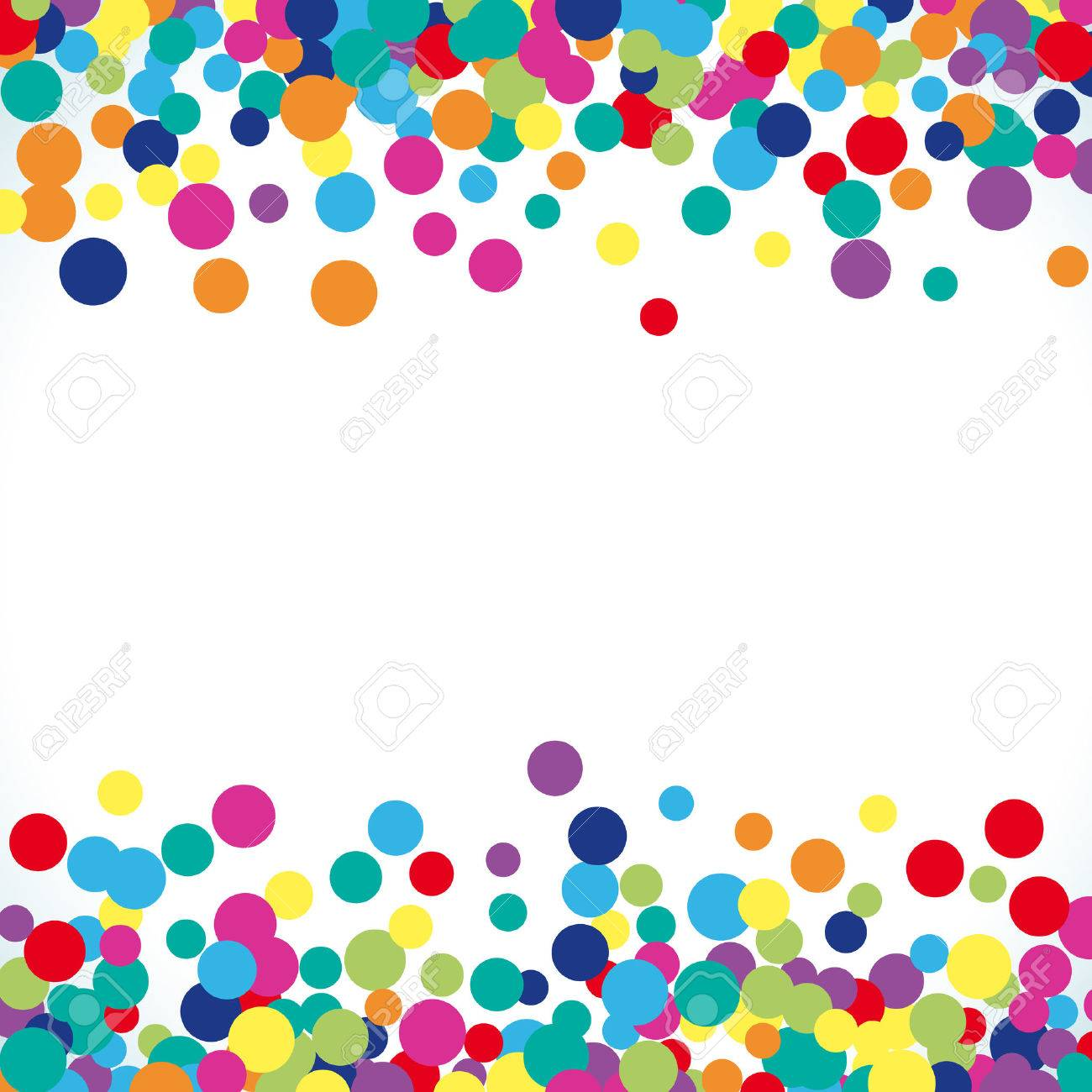 Colorful abstract dot background. illustration for bright design. Circle art round backdrop. Modern pattern decoration. Color texture holiday element wallpaper. Decor fun spot card. Happy mood. - 57583903