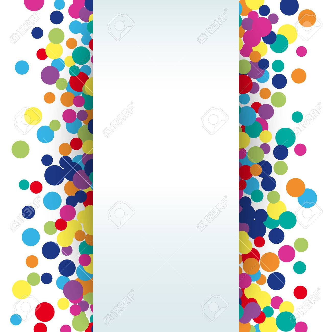 colorful abstract spot background illustration for bright design