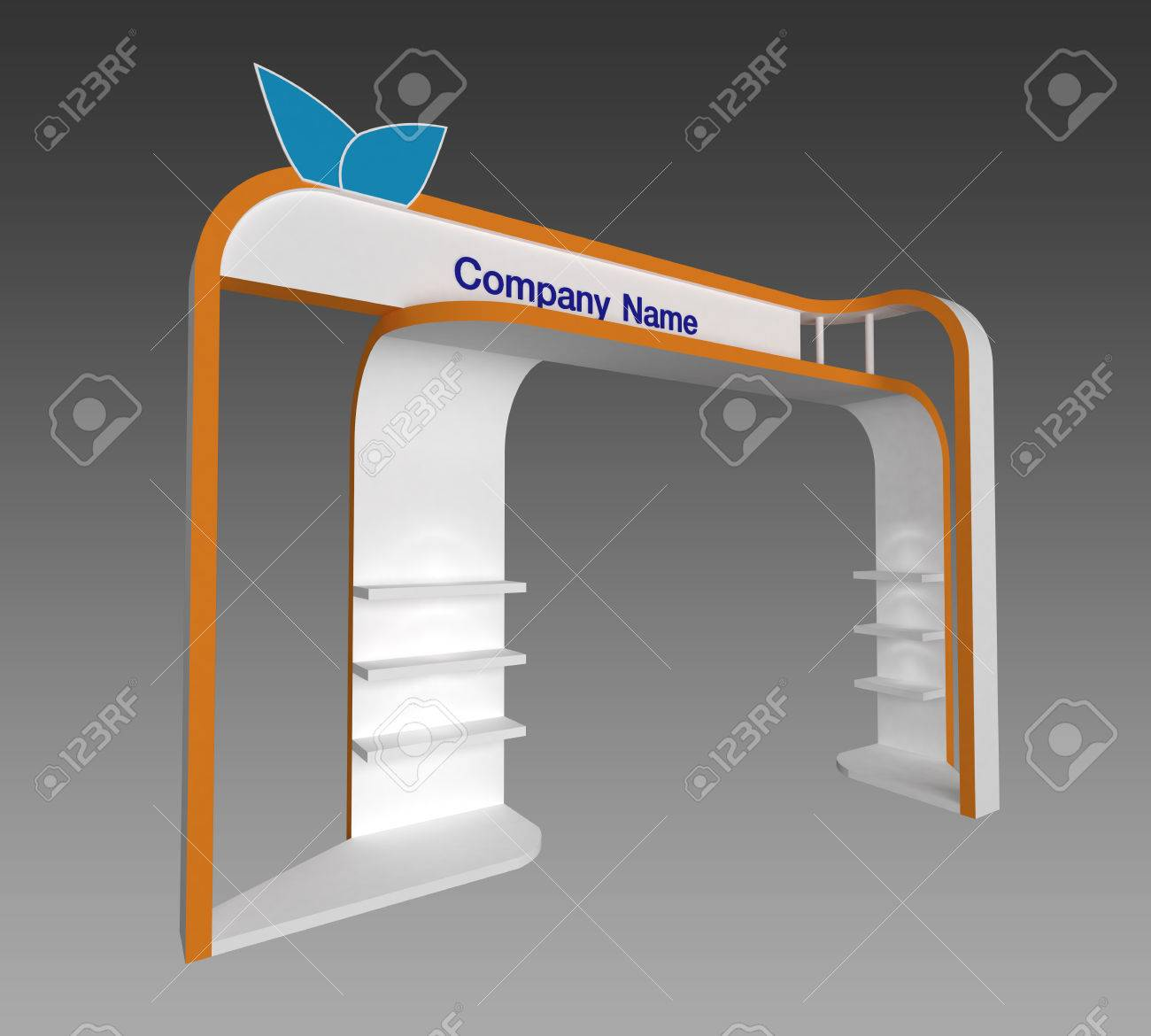 3d Exhibition Stand Design Software Free Download : Exhibition stand d model mtr mtr sides open