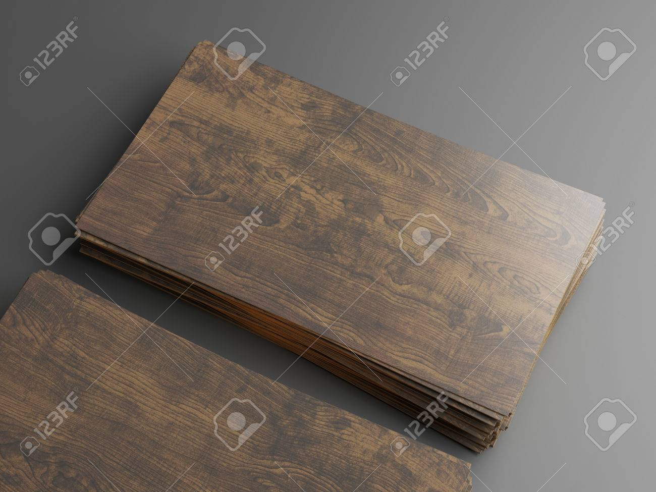 Dark Wood Business Cards Stock Photo, Picture And Royalty Free Image ...
