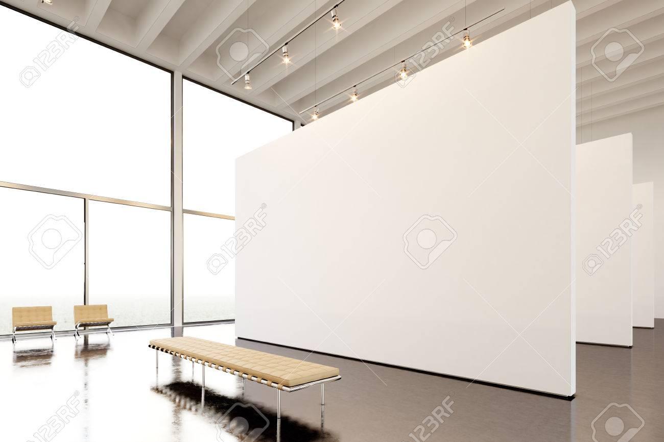 Fotoausstellung Der Modernen Galerie, Offen Space.Huge Weiße Leere ...