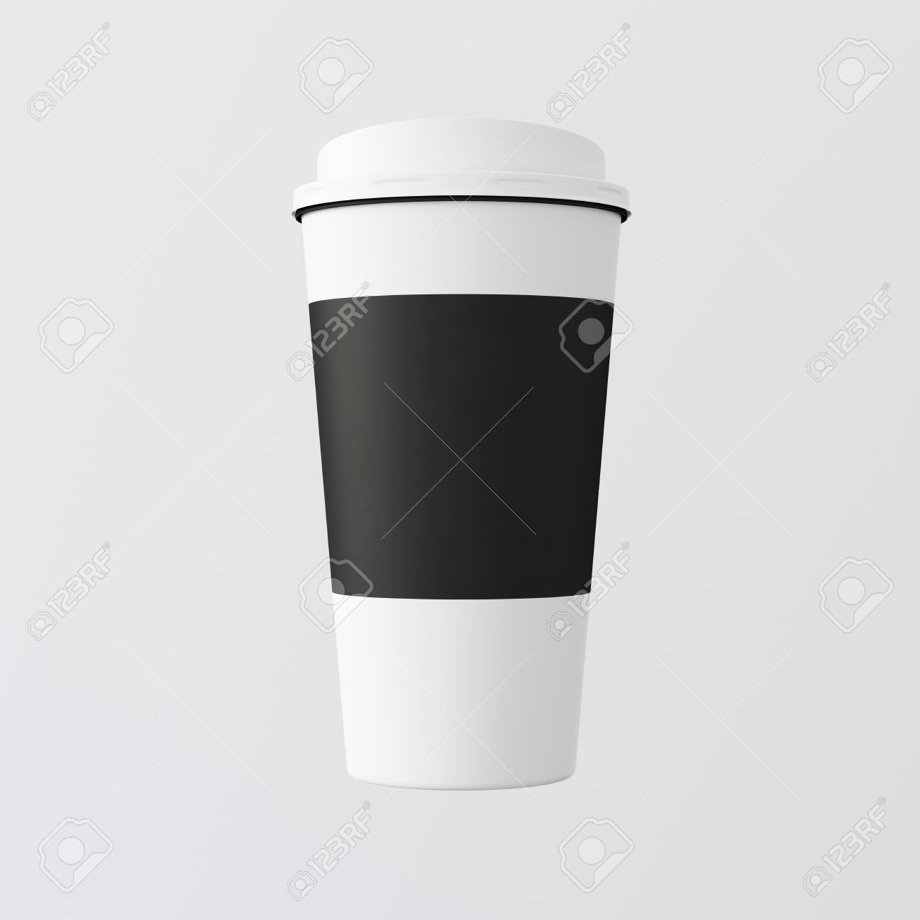 Take Gray Away Paper Plastic one White Background Cup Coffee lJ5uKTF31c