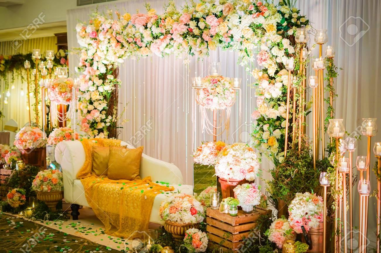 Decoration Of Sri Lanka Wedding Lizenzfreie Fotos Bilder Und Stock