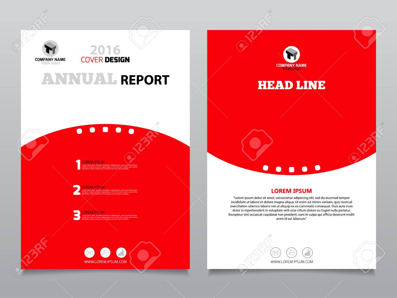 Red and white annual report leaflet brochure flyer template red and white annual report leaflet brochure flyer template design brochure template layout cover saigontimesfo