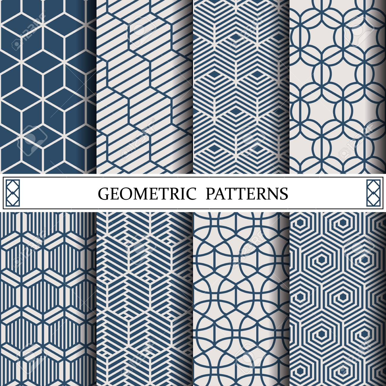 hexagon geometric vector pattern,pattern fills, web page, background,