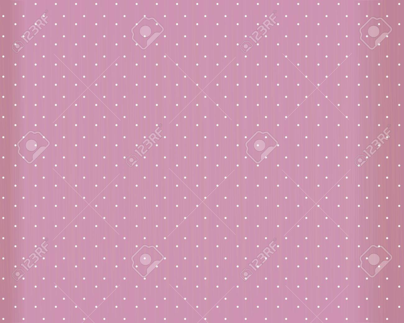 Pink vector background with white round dots, scuffles and edges in the shade. - 126752128