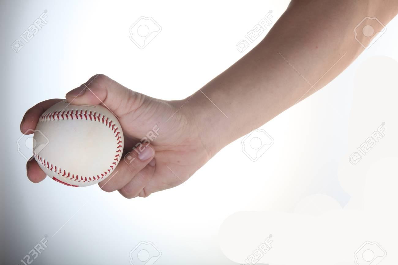 Position to make pitch baseball Stock Photo - 9583187