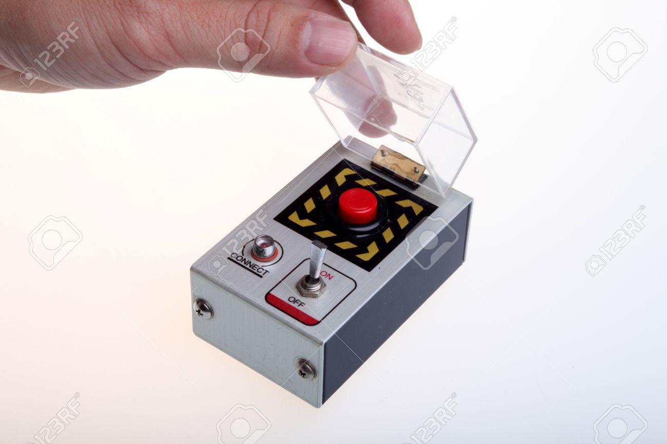 Hand-held detonator for bomb Stock Photo - 9583201