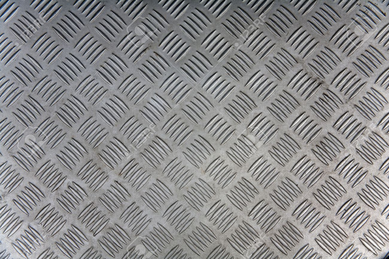 Seamless steel diamond plate texture Stock Photo - 13318940