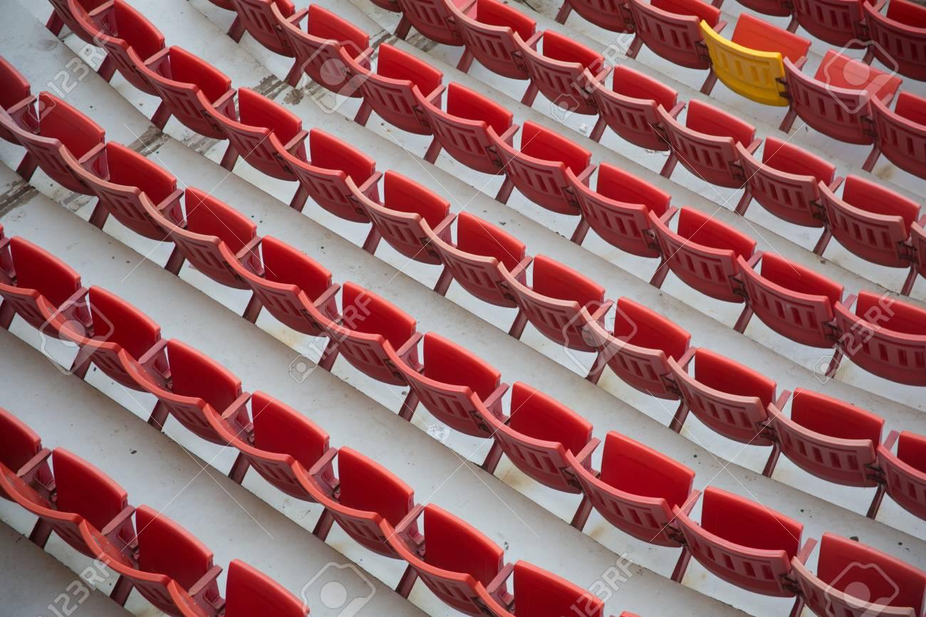 stadium chair Stock Photo - 28182698