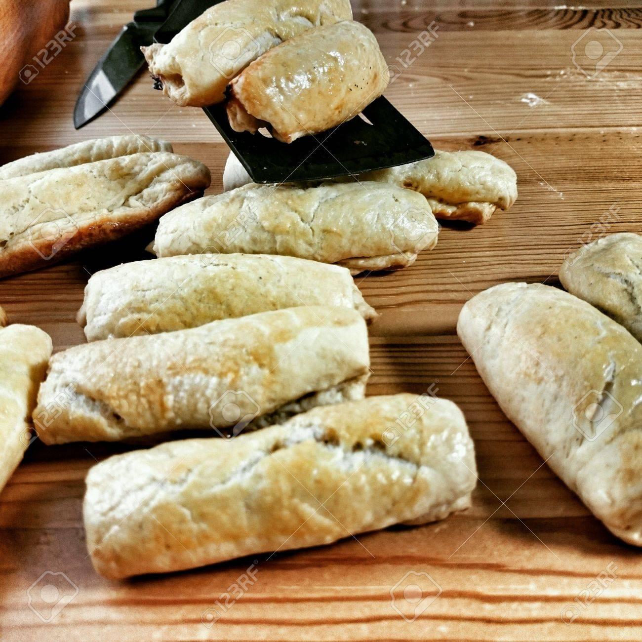 Polish Christmas Cookies.Prepare Cabbage Cookies Traditional Polish Christmas Eve Dish