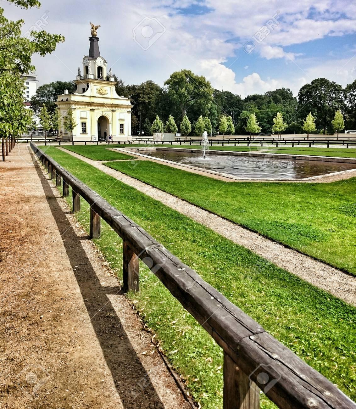 歴史的な場所、Branicki 宮殿と...