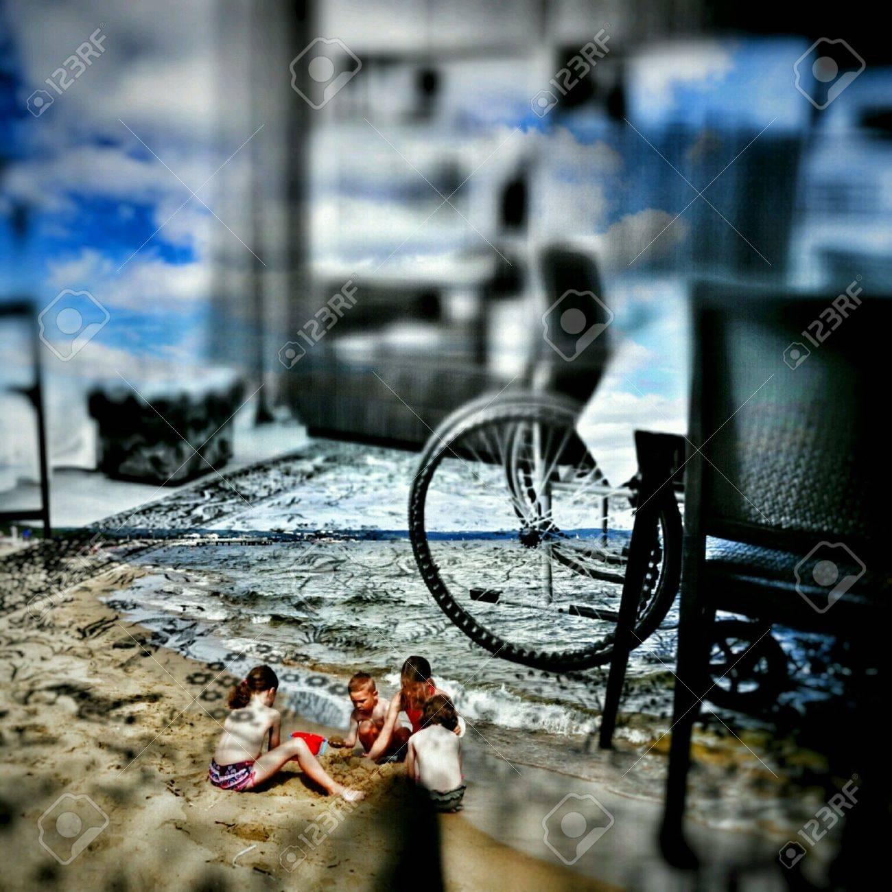 Unbekannt Vielleicht Unertraglich Unangenehme Zukunft Abstrakte Kunst Fotografie Die Sandwich Zusammensetzung Lizenzfreie Fotos Bilder Und Stock Fotografie Image 62475757