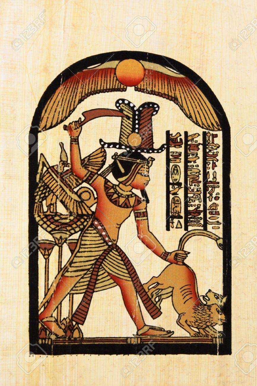 handmaded egyptian papyrus - 759942