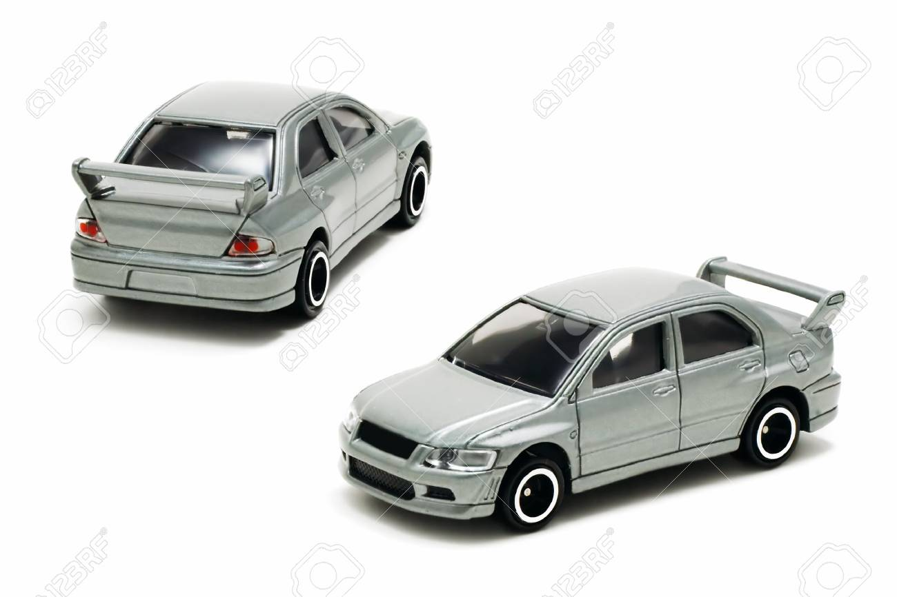 sport car toy on a white background with pretty shadows - 819906