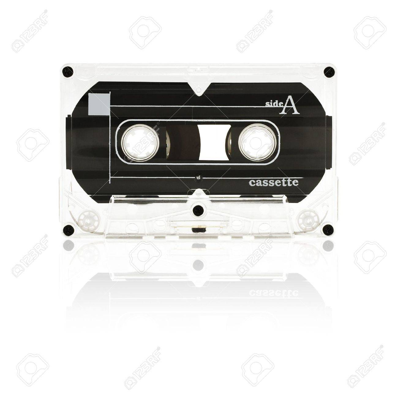 old audio tape cassette - side a - 966705