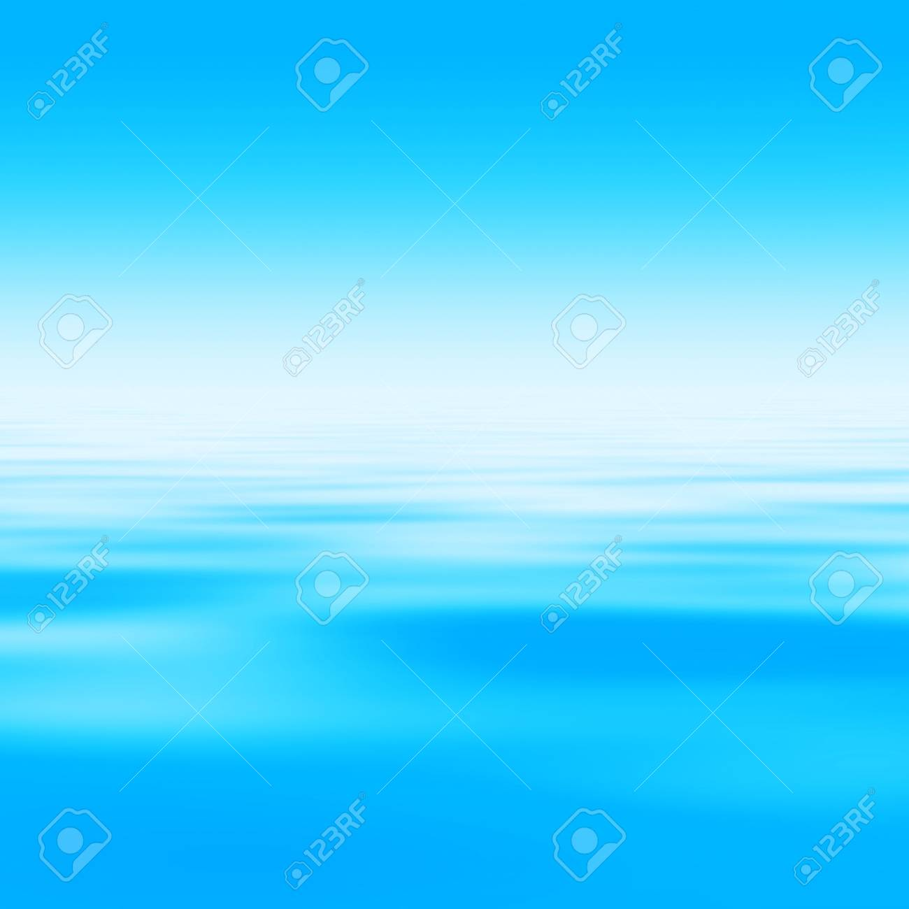bright sky at morning with water surface (blank space for text) - 1192468