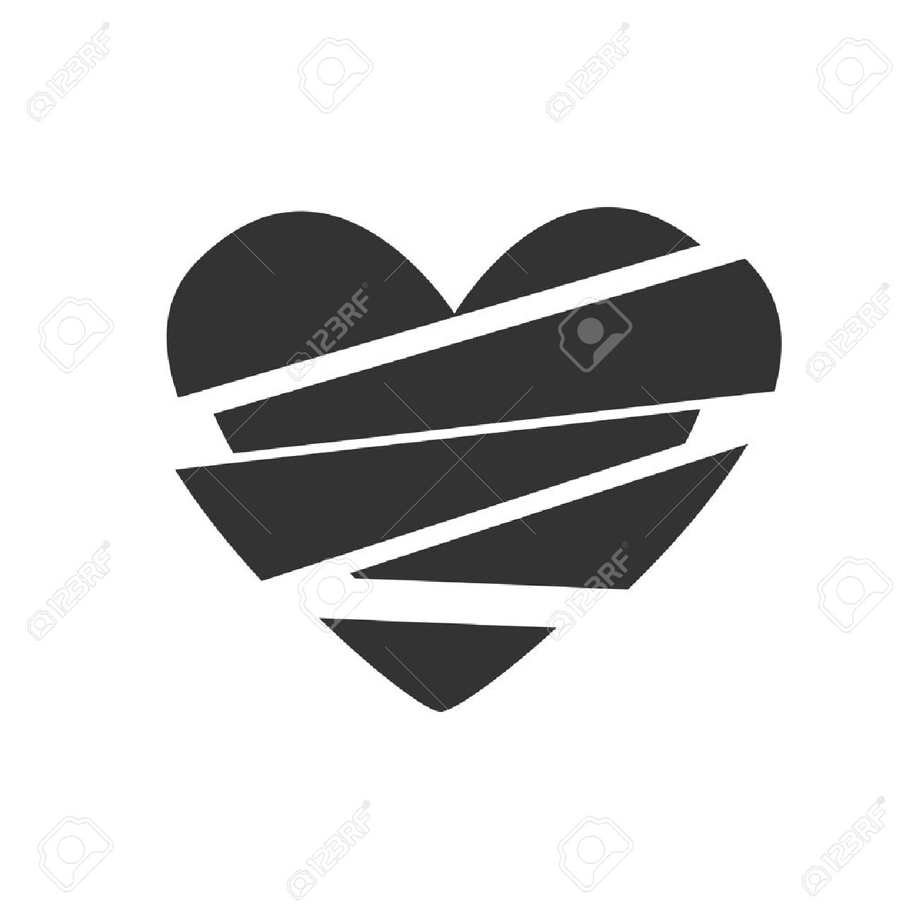Black and white sign vector symbol icon broken heart royalty free black and white sign vector symbol icon broken heart stock vector 46365194 buycottarizona